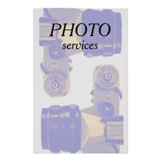 Photography and image graphic profession 14 cm x 21.5 cm flyer