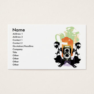 """Photography"" Business Card"