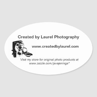 Photography Business Promotional Stickers