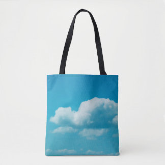 Photography - CLOUDS IN THE SKY + your ideas Tote Bag