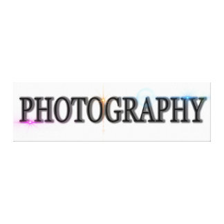 Photography Digital Art Writing Icon Logo Canvas