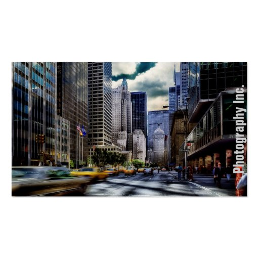 Photography Display Business Cards