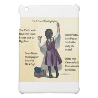 Photography Humor iPad Mini Case