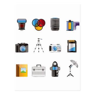 Photography Icon Postcard