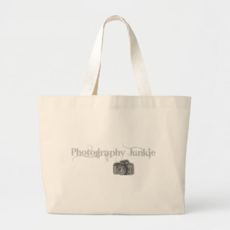 Photography Junkie Canvas Bag