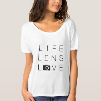 Photography Love Slouchy Tee | LIFE LENS LOVE