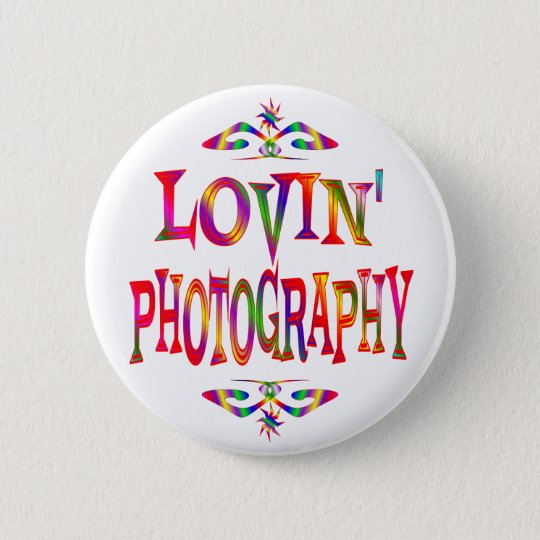 Photography Lover 6 Cm Round Badge