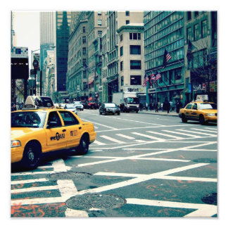 Photography of New York Photo Print