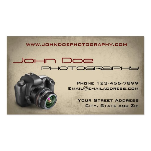 Premium photography business card templates photography photographer photo business card reheart Image collections