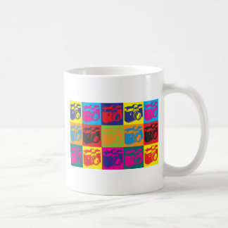 Photography Pop Art Basic White Mug