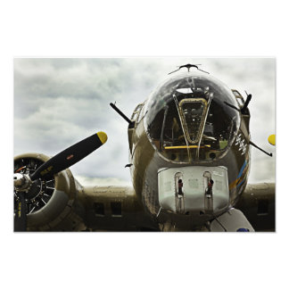 Photography Print of a B17 Bomber form WW II Art Photo