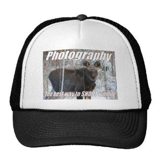 Photography, the best way to SHOOT wildlife Trucker Hats