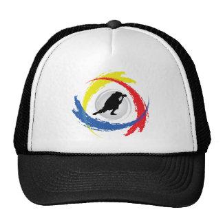 Photography Tricolor Emblem Mesh Hat