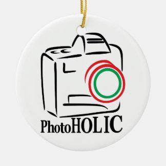 Photoholic Christmas Ornament