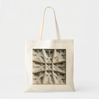 Photomanipulated Carved stone panels Tote Bag