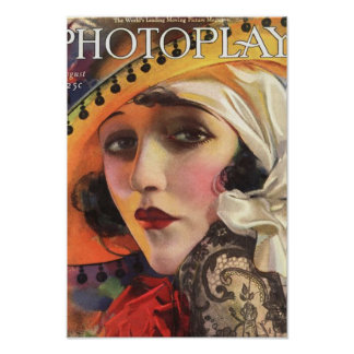 photoplay magazine cover pre 1923 poster
