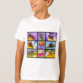 Photos mosaic of insects T-Shirt