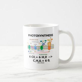 Photosynthesis (Chemical) Formula Basic White Mug