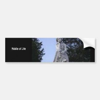 PhotoText Sticker Bumper Sticker