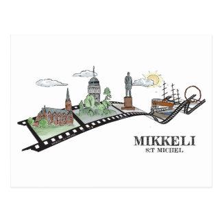Photowalk Mikkeli, Finland Postcard