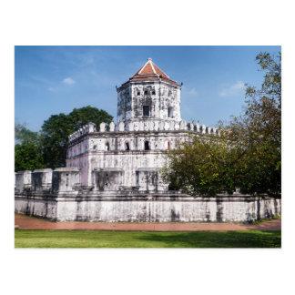 Phra Sumen Fort, Satichaiprakan Park, Bangkok Postcard