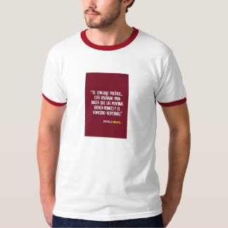 Phrase Celebrates George Orwell Tee Shirt