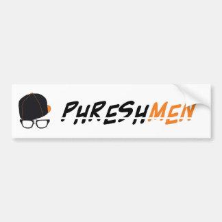Phrehsmen Deck Line Bumper Sticker
