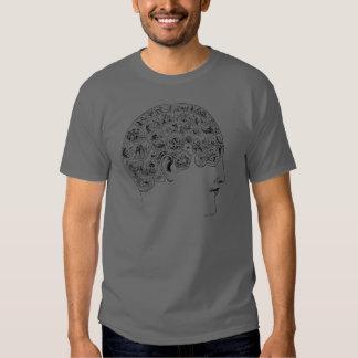 Phrenological Chart Tee Shirt