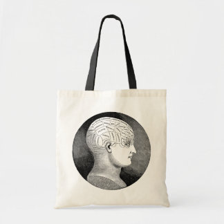 Phrenology Budget Tote Bag