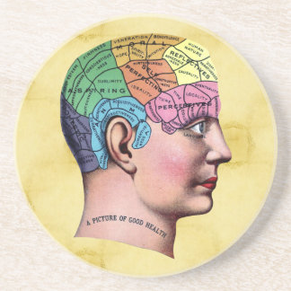 Phrenology Coaster