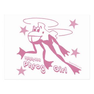 Phrog Girl Postcard
