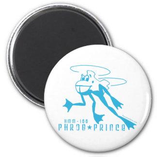 Phrog Prince 6 Cm Round Magnet