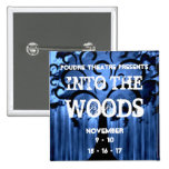 PHS Into the Woods 2 15 Cm Square Badge