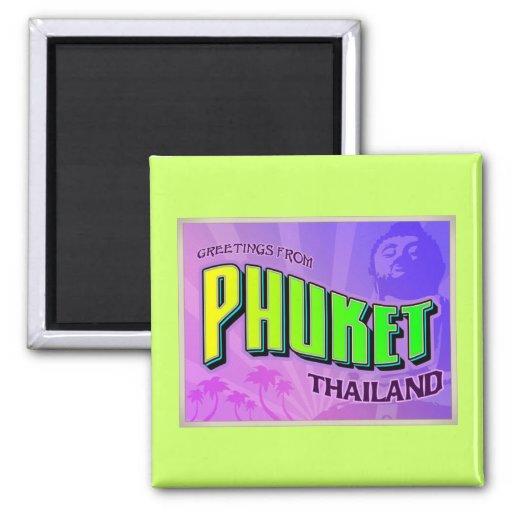 PHUKET REFRIGERATOR MAGNET
