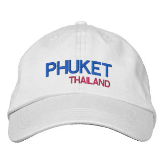 Phuket* Thailand Embroidered Cap