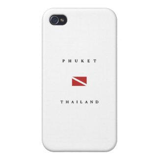 Phuket Thailand Scuba Dive Flag iPhone 4/4S Case