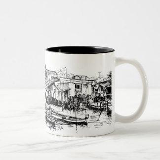Phuket Two-Tone Coffee Mug