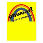 Phwoar - You're Gorgeous Postcards