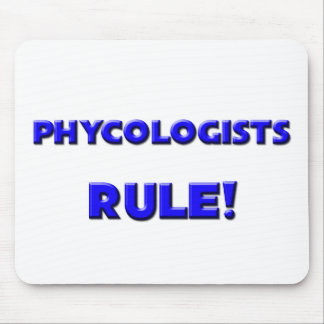 Phycologists Rule! Mouse Mats