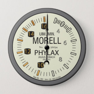 PhylaxMorell Tachometer 10 Cm Round Badge