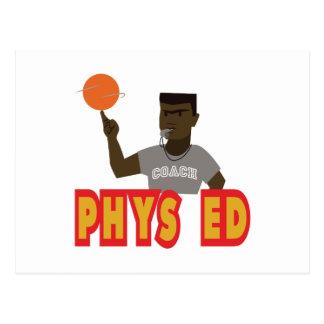Phys Ed Postcard