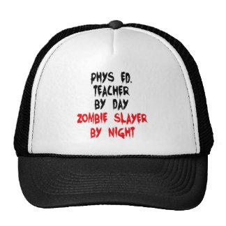 Phys Ed Teacher Zombie Slayer Cap
