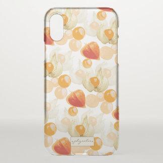 Physalis | Winter Cherries iPhone X Case