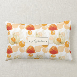 Physalis | Winter Cherries Lumbar Cushion