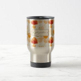 Physalis | Winter Cherries Travel Mug