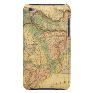 Physical and mineralogical map of France iPod Touch Case-Mate Case