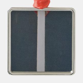 Physical atlas of natural phenomena Silver-Colored square decoration