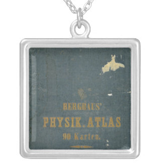 Physical Atlas version 1 Silver Plated Necklace