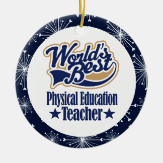 Physical Education Teacher Gift Christmas Ornament