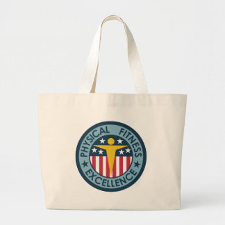 Physical Fitness Excellence Canvas Bag